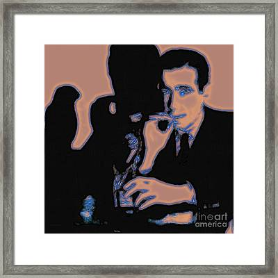 Humphrey Bogart And The Maltese Falcon 20130323m88 Square Framed Print by Wingsdomain Art and Photography