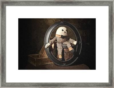 Humpty Dumpty Framed Print by Tom Mc Nemar