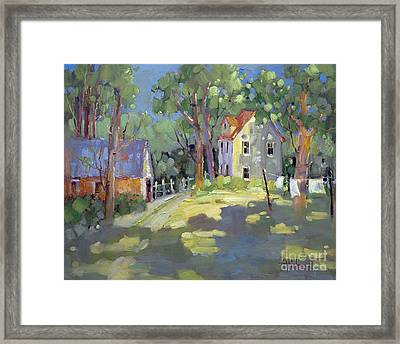 Hung Out To Dry Framed Print by Joyce Hicks