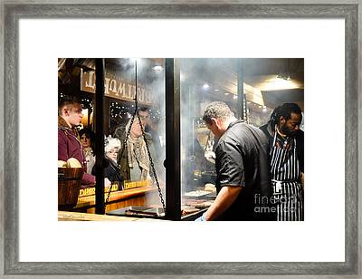 Patience Framed Print by Pete Edmunds