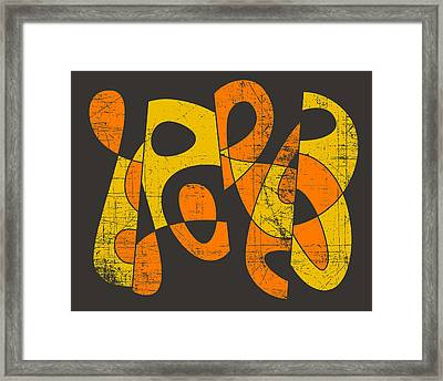 Hungry Ghosts  Framed Print by Jazzberry Blue