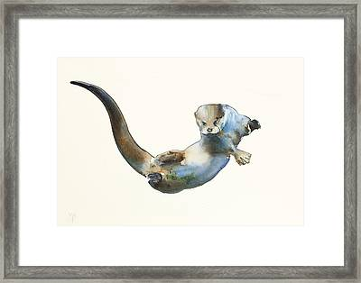 Hunter Framed Print by Mark Adlington