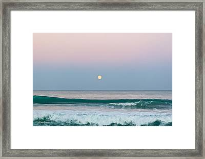 Hunters Moonrise Framed Print by Michelle Wiarda