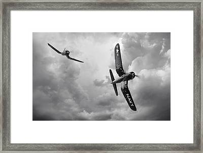 Hunters Framed Print by Peter Chilelli