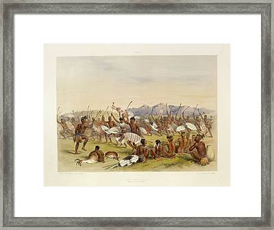 Hunting Dance Framed Print by British Library