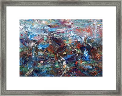 Hurricane Framed Print by James W Johnson