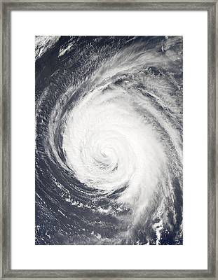 Hurricane Framed Print by Unknown