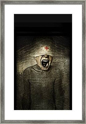 Hurt Framed Print by Johan Lilja
