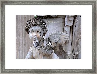Hush Little Angel Framed Print by Patrice Dwyer