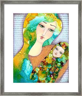 Hush Little Baby Framed Print by Joann Loftus