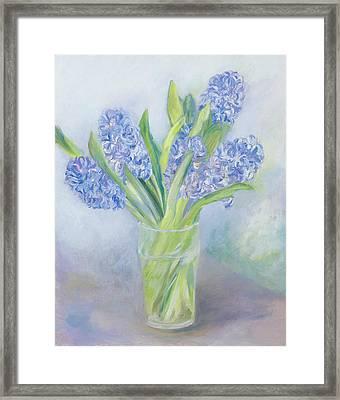 Hyacinths Framed Print by Sophia Elliot