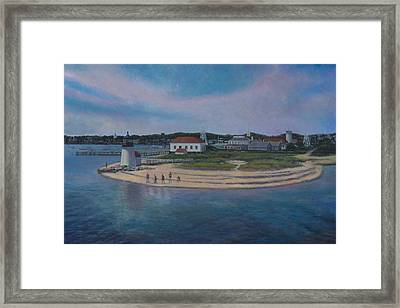 Hyannis Port Cape Cod Framed Print by David P Zippi