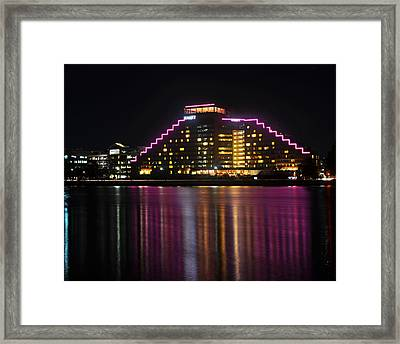 Hyatt Reflection Charles River Framed Print by Toby McGuire