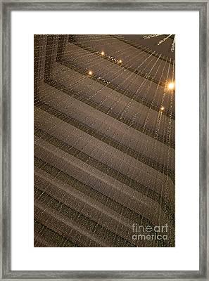 Hyatt Regency Hotel Embarcadero San Francisco California Dsc1969 Framed Print by Wingsdomain Art and Photography