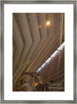 Hyatt Regency Hotel Embarcadero San Francisco California Dsc1970 Framed Print by Wingsdomain Art and Photography