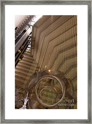 Hyatt Regency Hotel Embarcadero San Francisco California Dsc1976 Framed Print by Wingsdomain Art and Photography