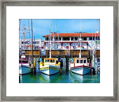 Hyde Street Pier Framed Print by Chris Andruskiewicz