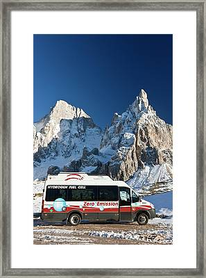 Hydrogen Fuel Cell Vehicle Framed Print by Bob Gibbons