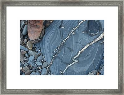 Hydrothermal Veins Framed Print by Sinclair Stammers