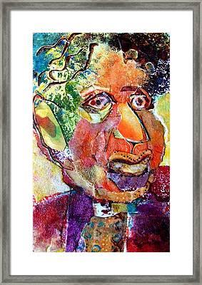 Hymie Framed Print by Diane Fine