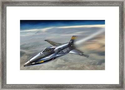 Hypersonic Framed Print by Peter Chilelli