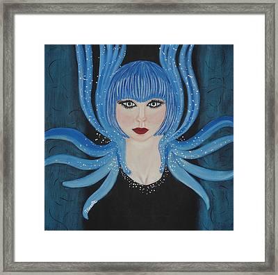 Hypnotic Framed Print by Tammy Rekito