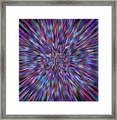 Hypnotizing Love Framed Print by R-A Kaka