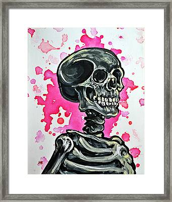 I Am Dead Inside  Framed Print by Ryno Worm  Tattoos