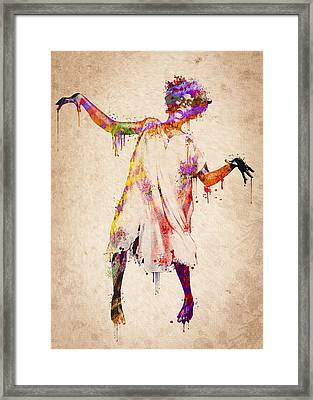 I Am Going Crazy Framed Print by Aged Pixel