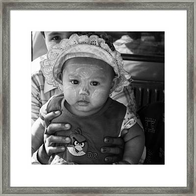 I Am So Cute  Framed Print by Jerry Nelson