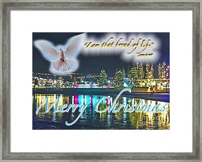 I Am Framed Print by Terry Wallace