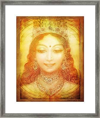 I Am That Framed Print by Ananda Vdovic