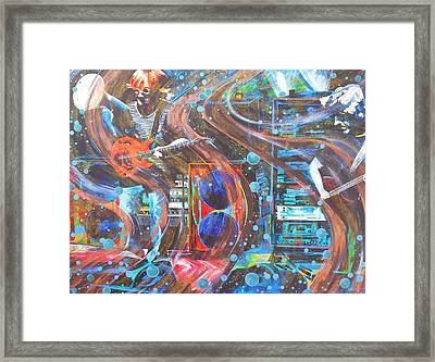 I Can Make You Slip Framed Print by Kevin J Cooper Artwork