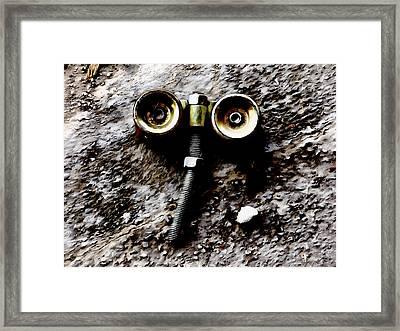 I Dead Robot Framed Print by Steve Taylor