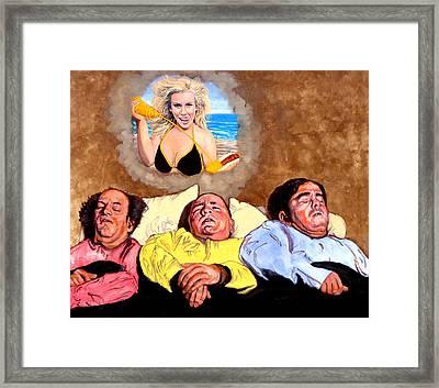 I Dream Of Jenny Framed Print by Tom Roderick