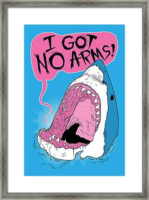 I Got No Arms Framed Print by Mike Lopez