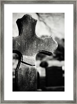 I H S Framed Print by Rebecca Sherman