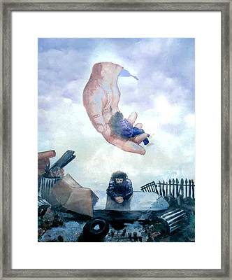 I Have A Home Framed Print by Ricardo Colon