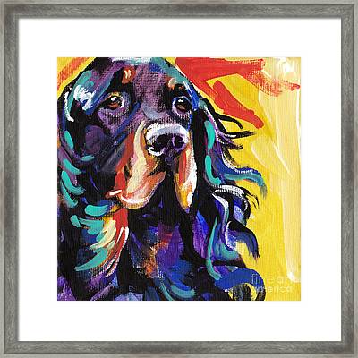 I Love Gordon Framed Print by Lea S