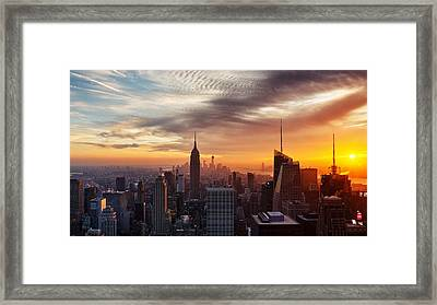 I Love New York Framed Print by Maico Presente