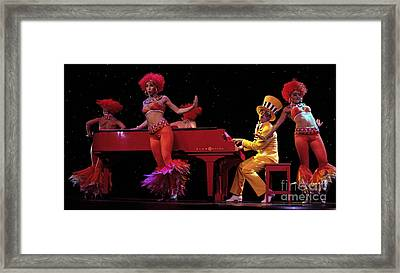 I Love Rock And Roll Music Framed Print by Bob Christopher