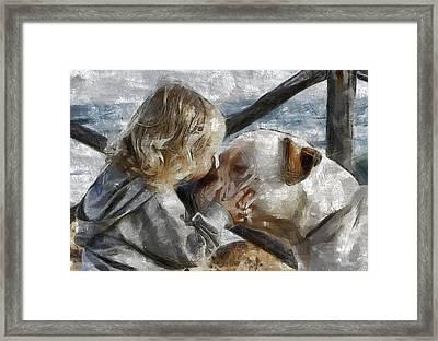 I Love You Framed Print by Georgi Dimitrov