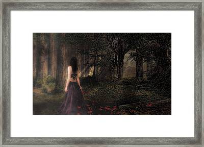 I Love You To Death Framed Print by Kristie  Bonnewell