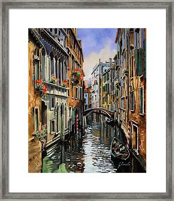 I Pali Rossi Framed Print by Guido Borelli