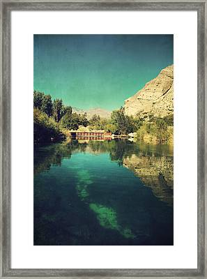 I See Right Through Framed Print by Laurie Search
