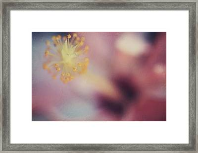 I Tell Myself It'll Be Alright Framed Print by Laurie Search