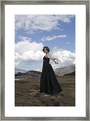 I Think I Can Fly Framed Print by Teri Schuster