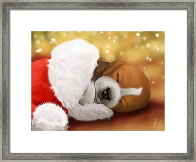 I Wait... Framed Print by Veronica Minozzi