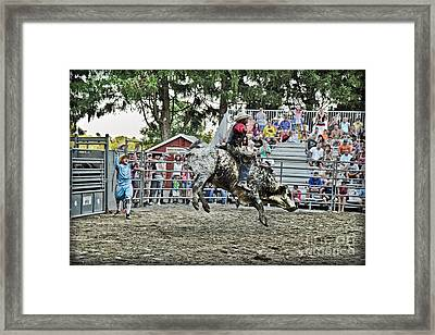 I Want To Get Higher Framed Print by Gary Keesler