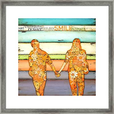 I Will Never Let Go Framed Print by Danny Phillips
